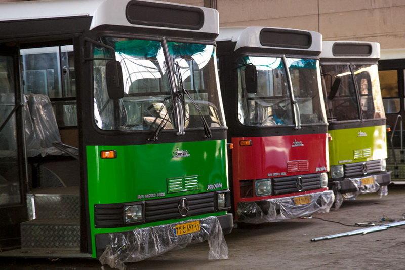 اتوبوسهای فرسوده