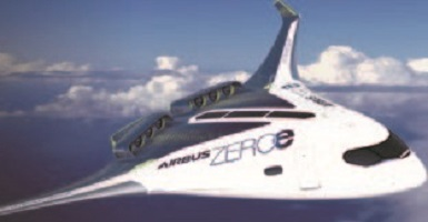 رونمایی ایرباس از سه هواپیمای بدون آلودگی