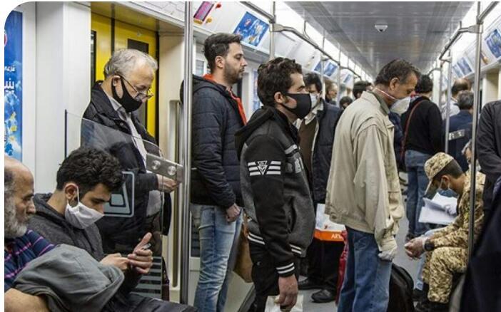 متروی تهران و کرونا