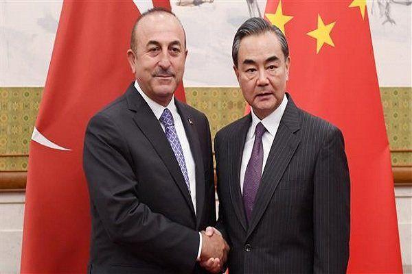 مسیر ریلی و ترانزیتی چین و ترکیه