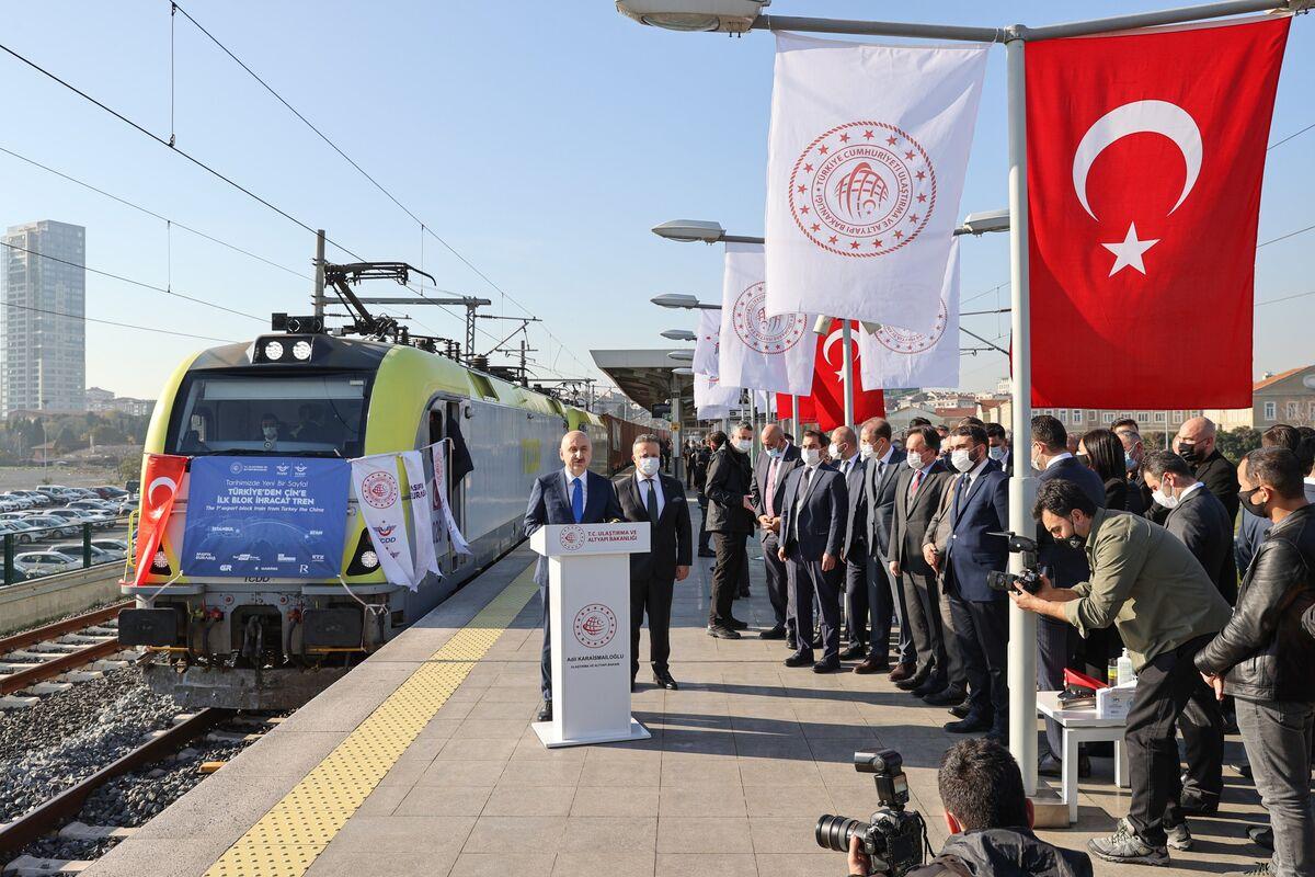 ترانزیت چین و ترکیه1